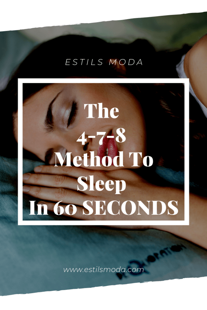The 4-7-8 Method To Sleep In 60 SECONDS
